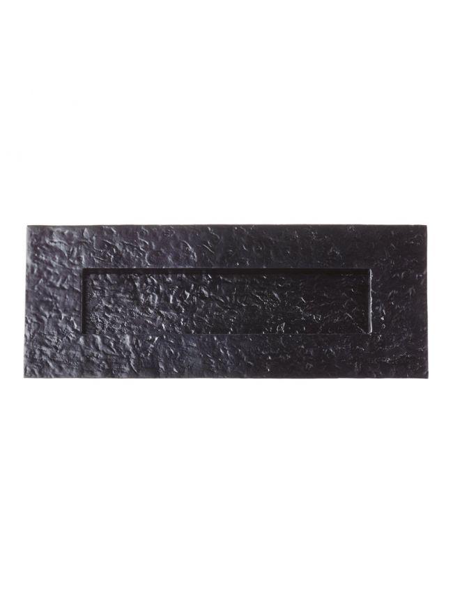 "FF38 Traditional Plain Letter Plate - 10"" x 4"" / 195x45mm Aperture"