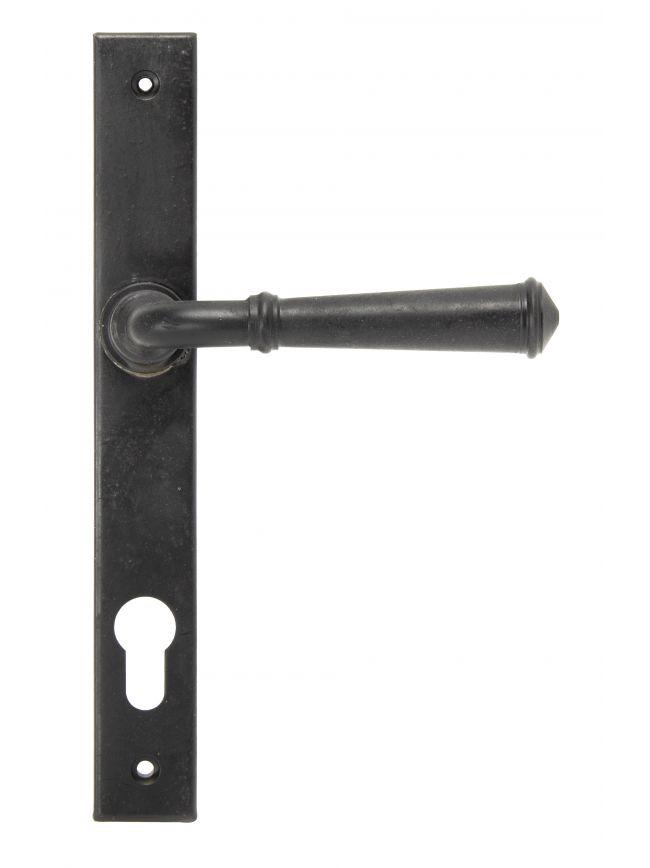 External Beeswax Regency Slimline Lever Espag. Lock Set