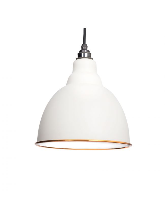The Brindley Pendant in Oatmeal