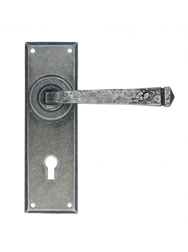 Pewter Avon Lever Lock Set