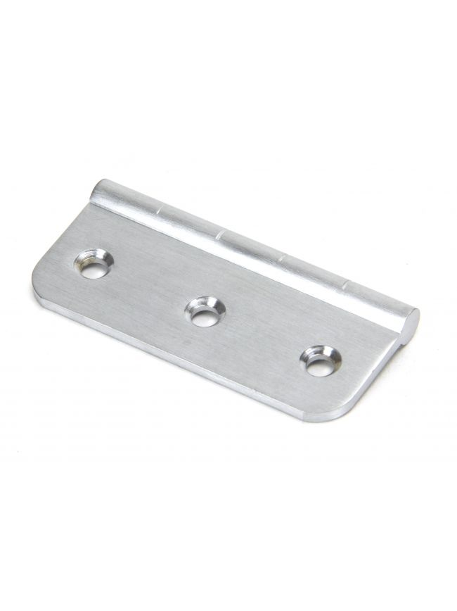 "Satin Chrome 3"" Dummy Butt Hinge (Single)"