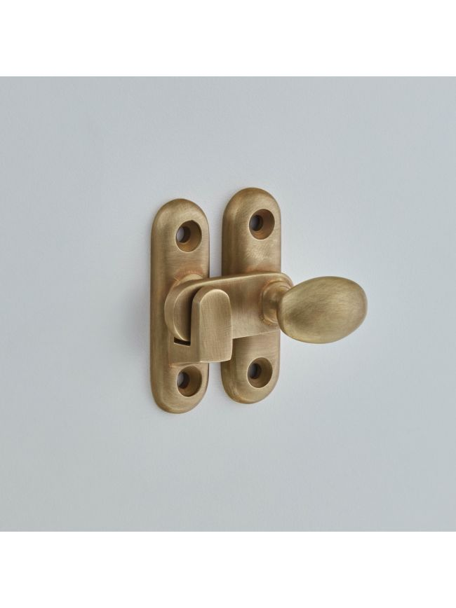 5210 Oval Knob Cabinet Catch 25mm