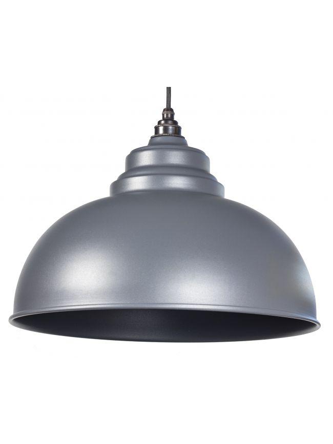 Dark Grey Full Colour Harborne Pendant