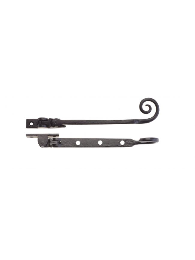 """FF90A Curly Tail Casement Stay - 8"""""""