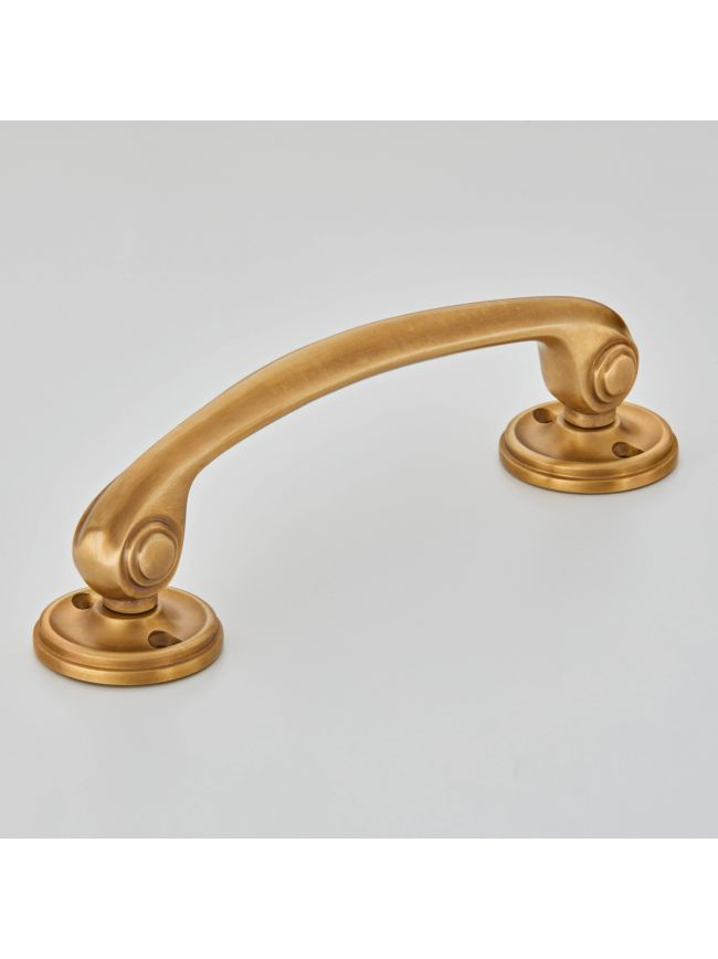 5204 Grace Cabinet Handle with Roses