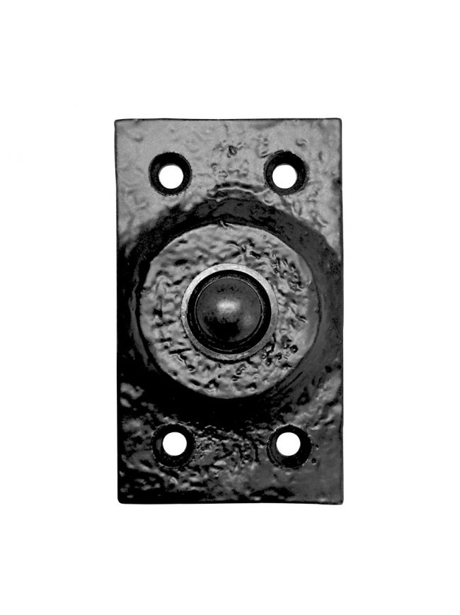 FF33 Bell Push with Rectangular Plate - 45mm x 77mm