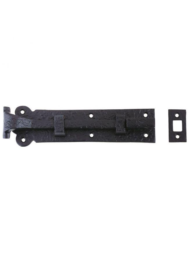 FF56 Cranked Plain Door Bolt - 200mm x 48mm