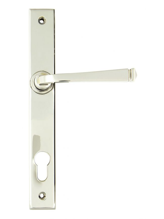 Polished Nickel Avon Slimline Lever Espag. Lock Set