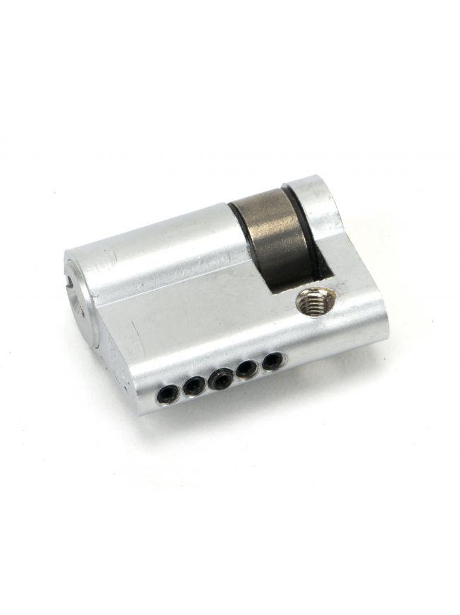Satin Chrome 30/10 5pin Single Cylinder
