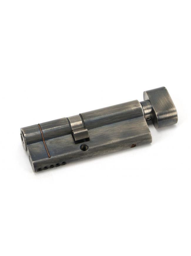 Pewter 35/45T 5pin Euro Cylinder/Thumbturn