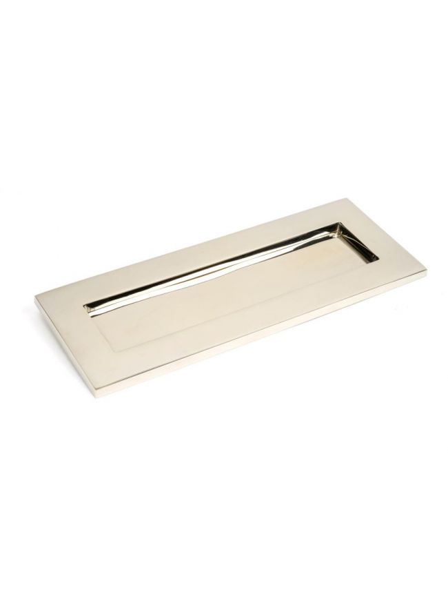 Polished Nickel Small Letter Plate