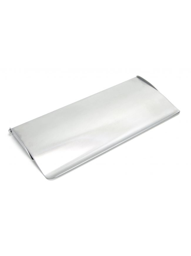 Satin Chrome Small Letter Plate Cover