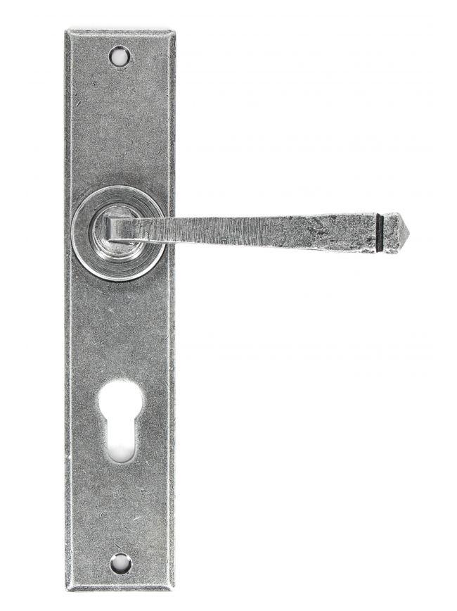 Pewter Large Avon 72mm Centre Euro Lock Set