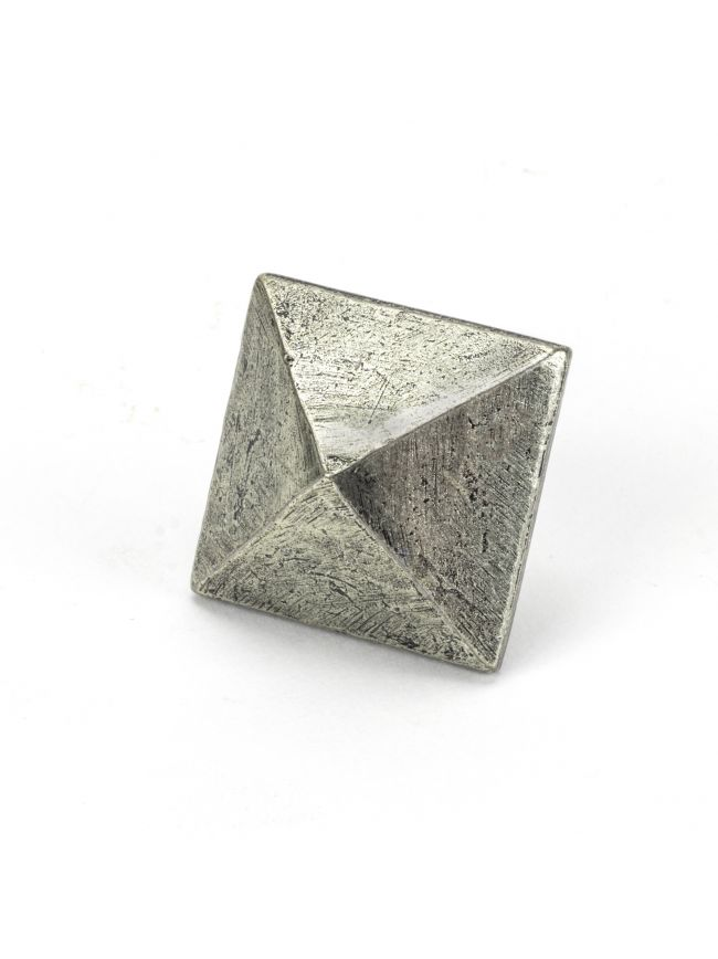 Pewter Pyramid Door Stud - Large