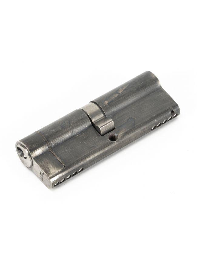 Pewter 45/45 5pin Euro Cylinder