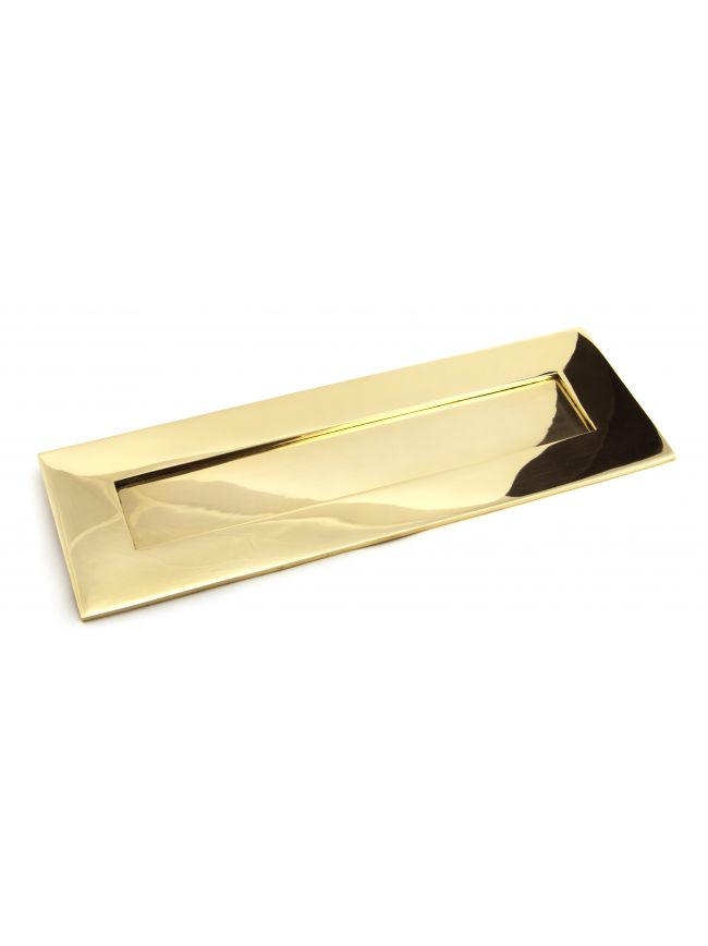 Polished Brass Large Letter Plate