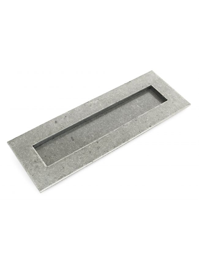 Pewter Large Letter Plate