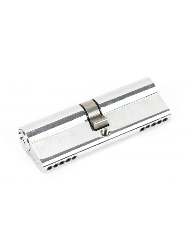 Polished Chrome 45/45 5pin Euro Cylinder KA
