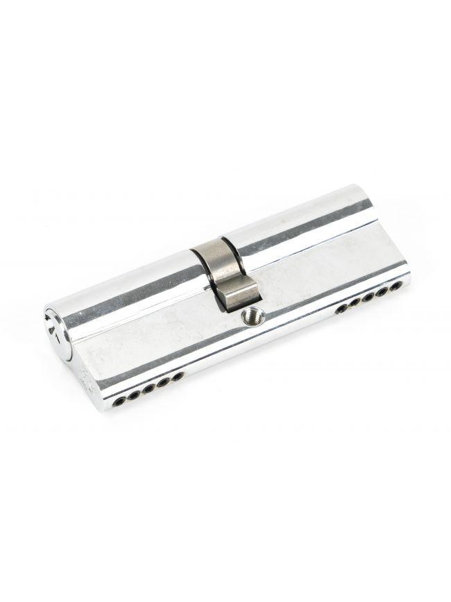 Polished Chrome 45/45 5pin Euro Cylinder KA