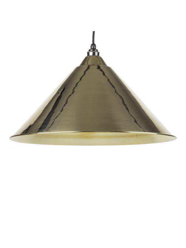 Smooth Brass Interior Hockley Pendant