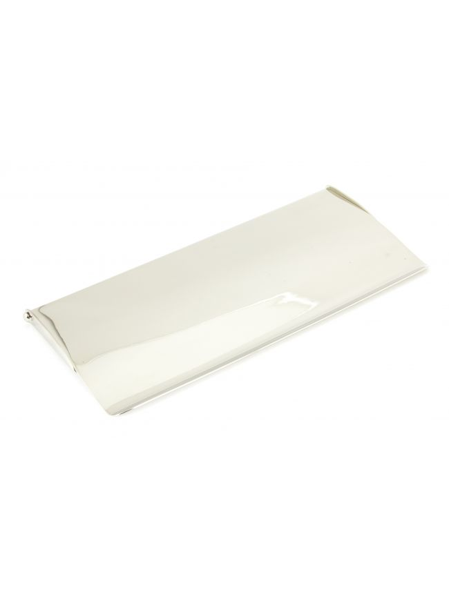 Polished Nickel Small Letter Plate Cover