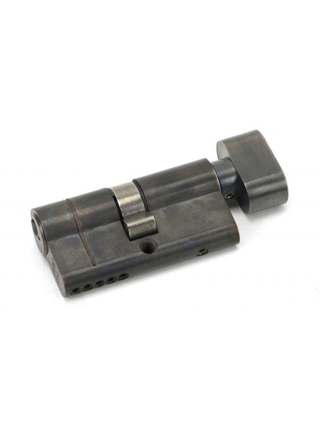 Aged Bronze 30/30 5pin Euro Cylinder/Thumbturn
