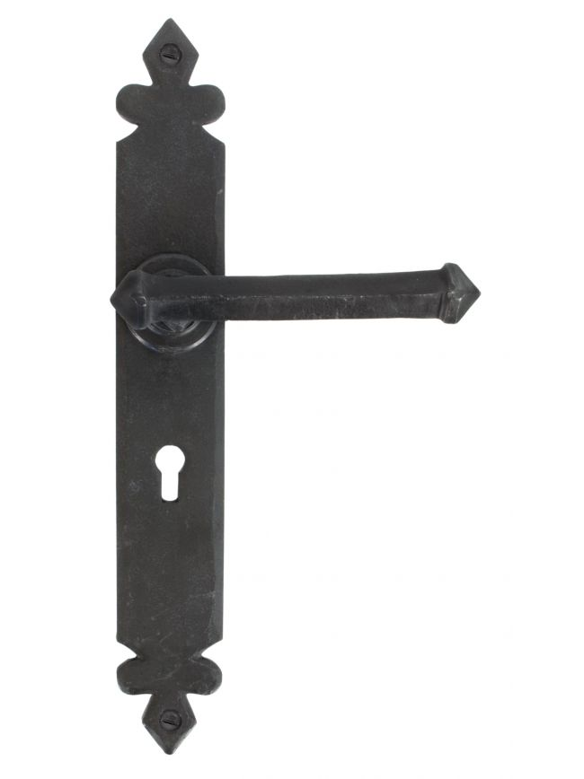 Beeswax Tudor Lever Lock Set