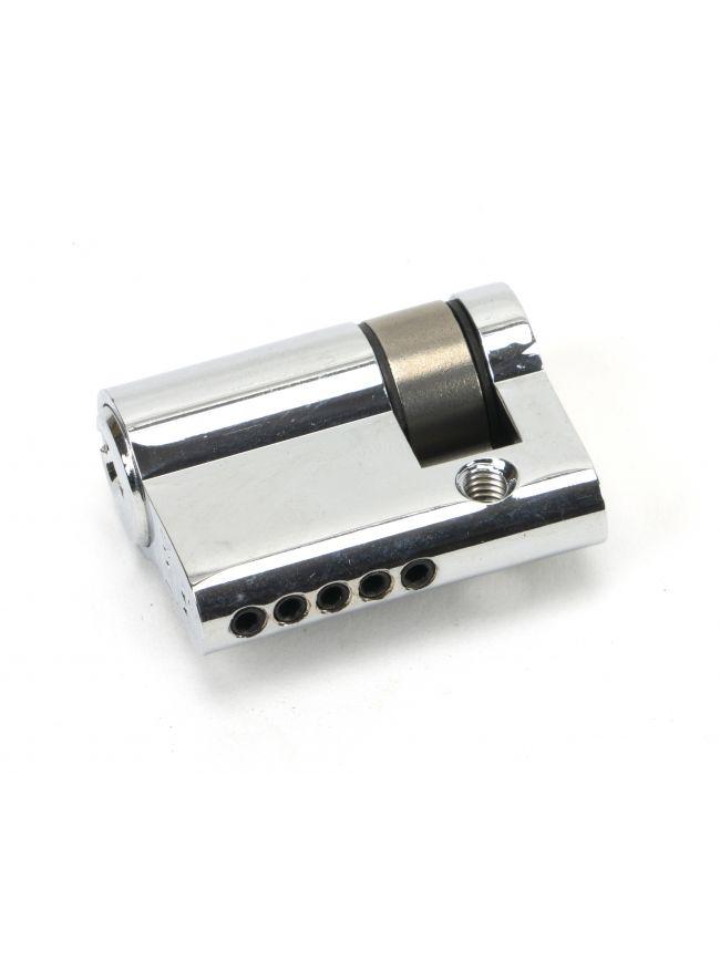 Polished Chrome 30/10 5pin Single Cylinder