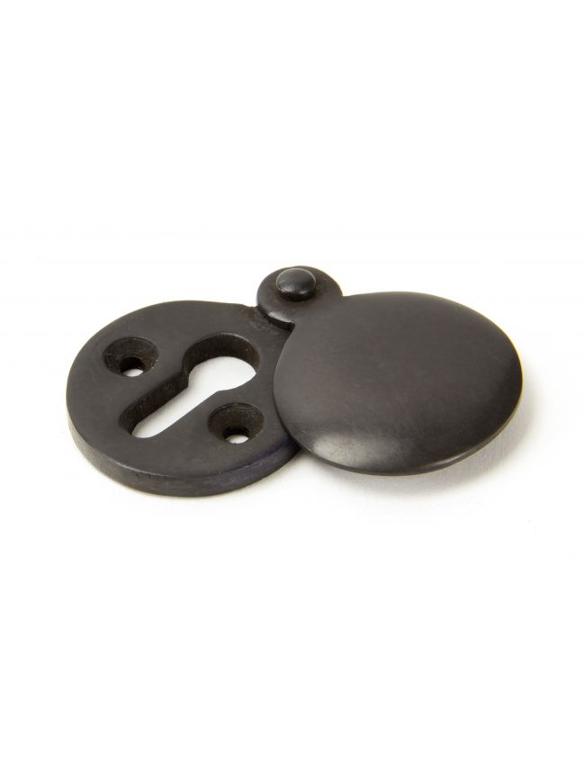 Aged Bronze 30mm Round Escutcheon