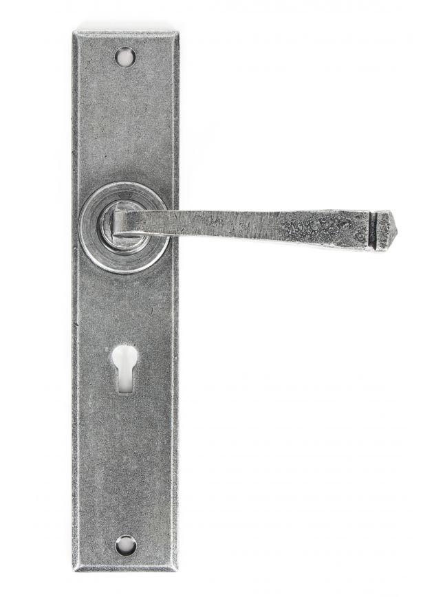Pewter Large Avon Lever Lock Set