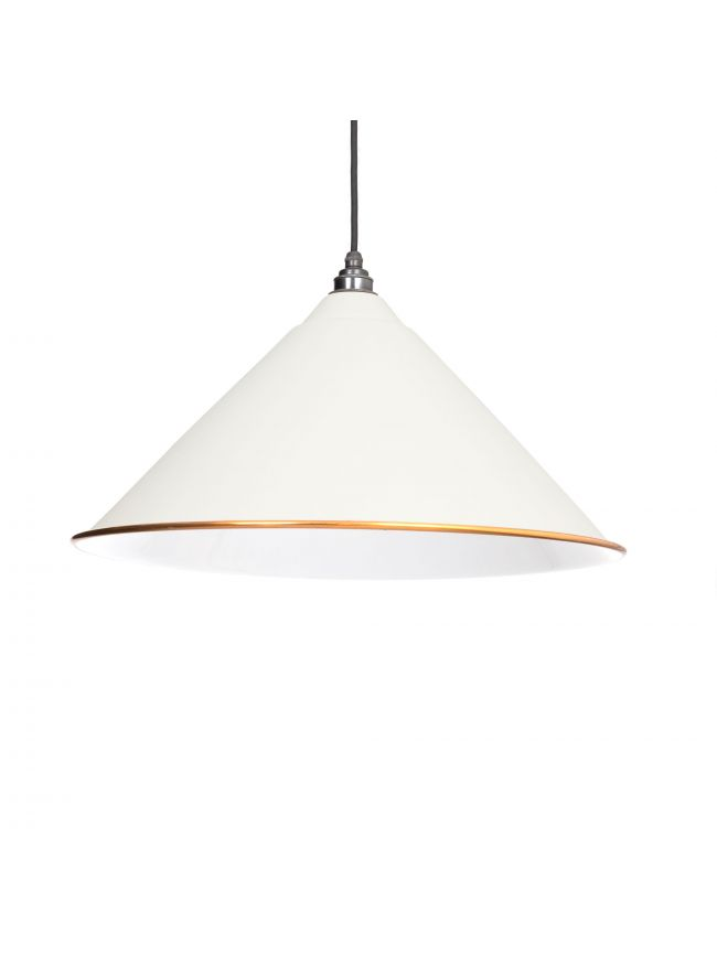 The Hockley Pendant in Oatmeal