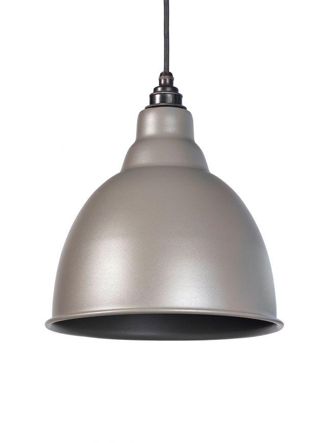 Warm Grey Full Colour Brindley Pendant
