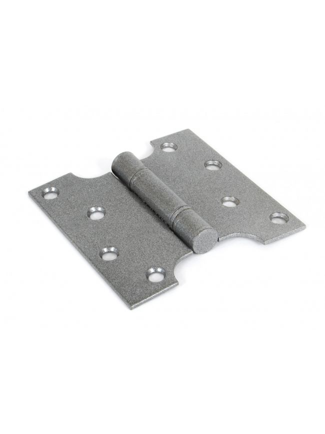 "Pewter 4"" x 2"" x 4"" Parliament Hinge (pair) ss"