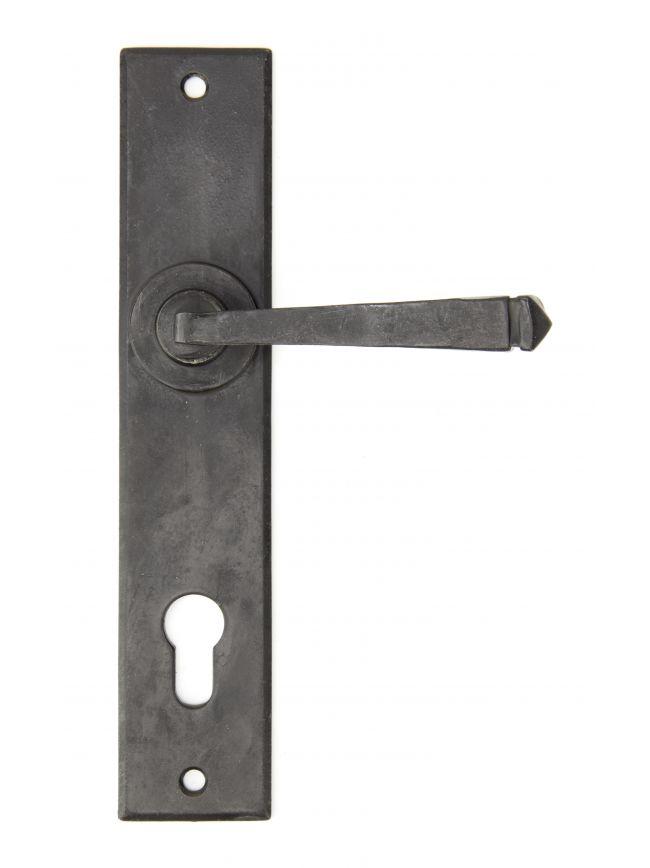 External Beeswax Avon Lever Espag. Lock Set