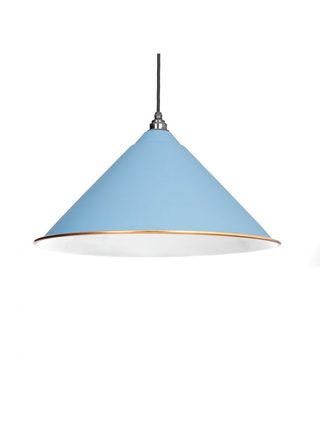 The Hockley Pendant in Pale Blue