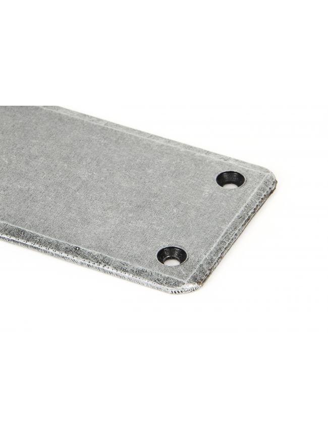 Pewter 1800mm Plain Fingerplate