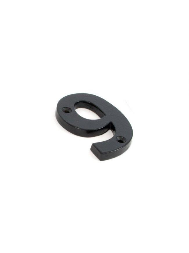 Black Numeral 9