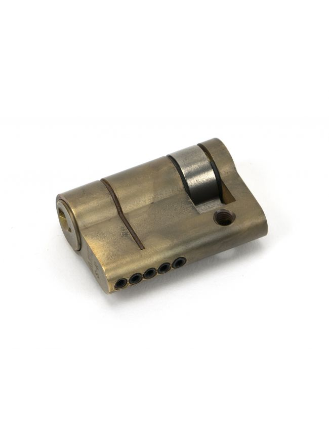 Aged Brass 35/10 5pin Single Cylinder