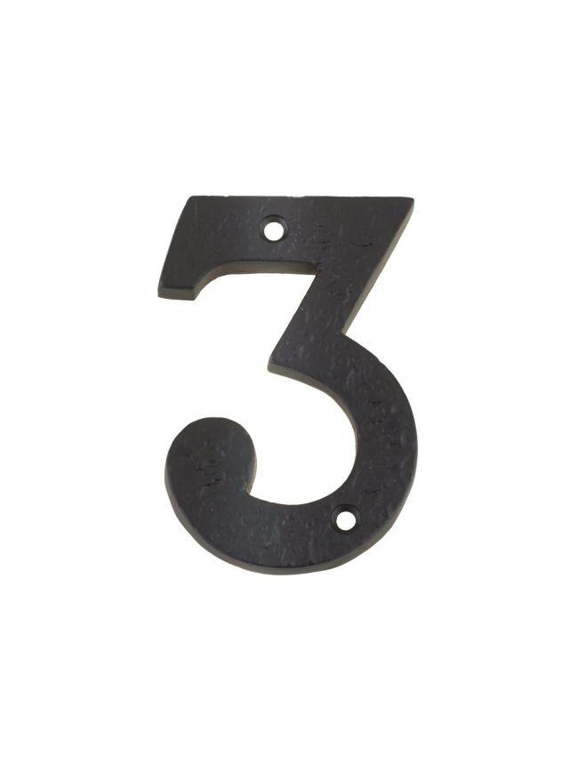 "FFN03 Numeral - No. 3 - 4"""