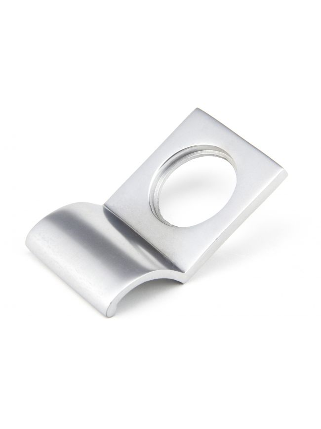 Satin Chrome Rim Cylinder Pull