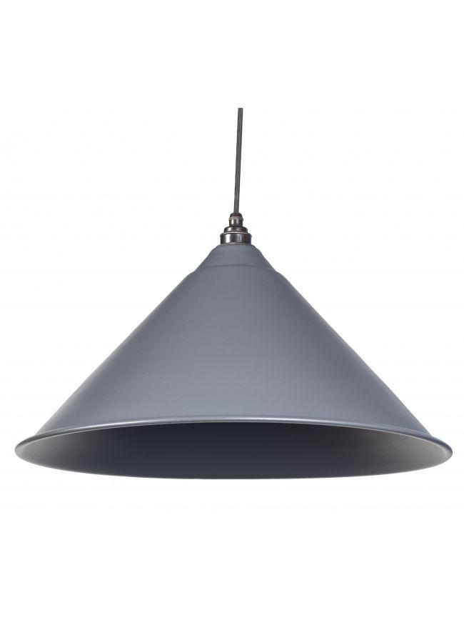 Dark Grey Full Colour Hockley Pendant