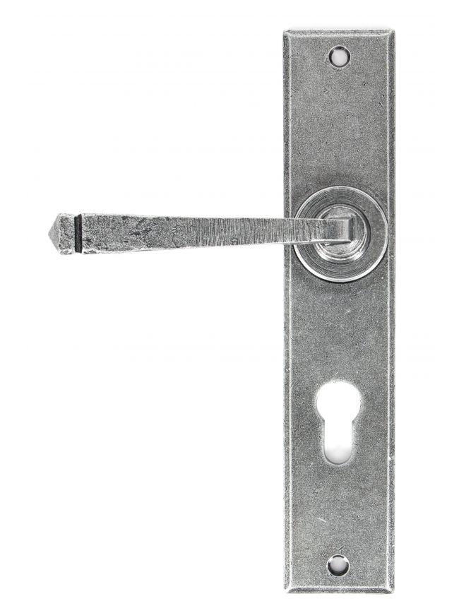 Pewter Large Avon 72mm Euro Lock Set