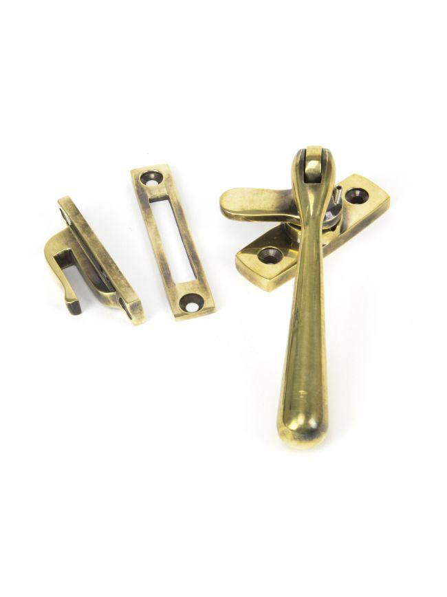 Aged Brass Locking Newbury Fastener