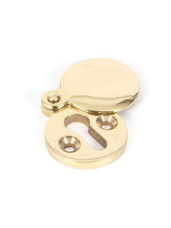 Polished Brass Round Escutcheon